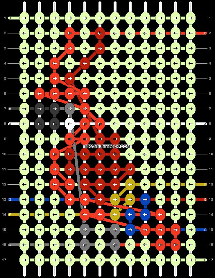 Alpha pattern #92525 pattern
