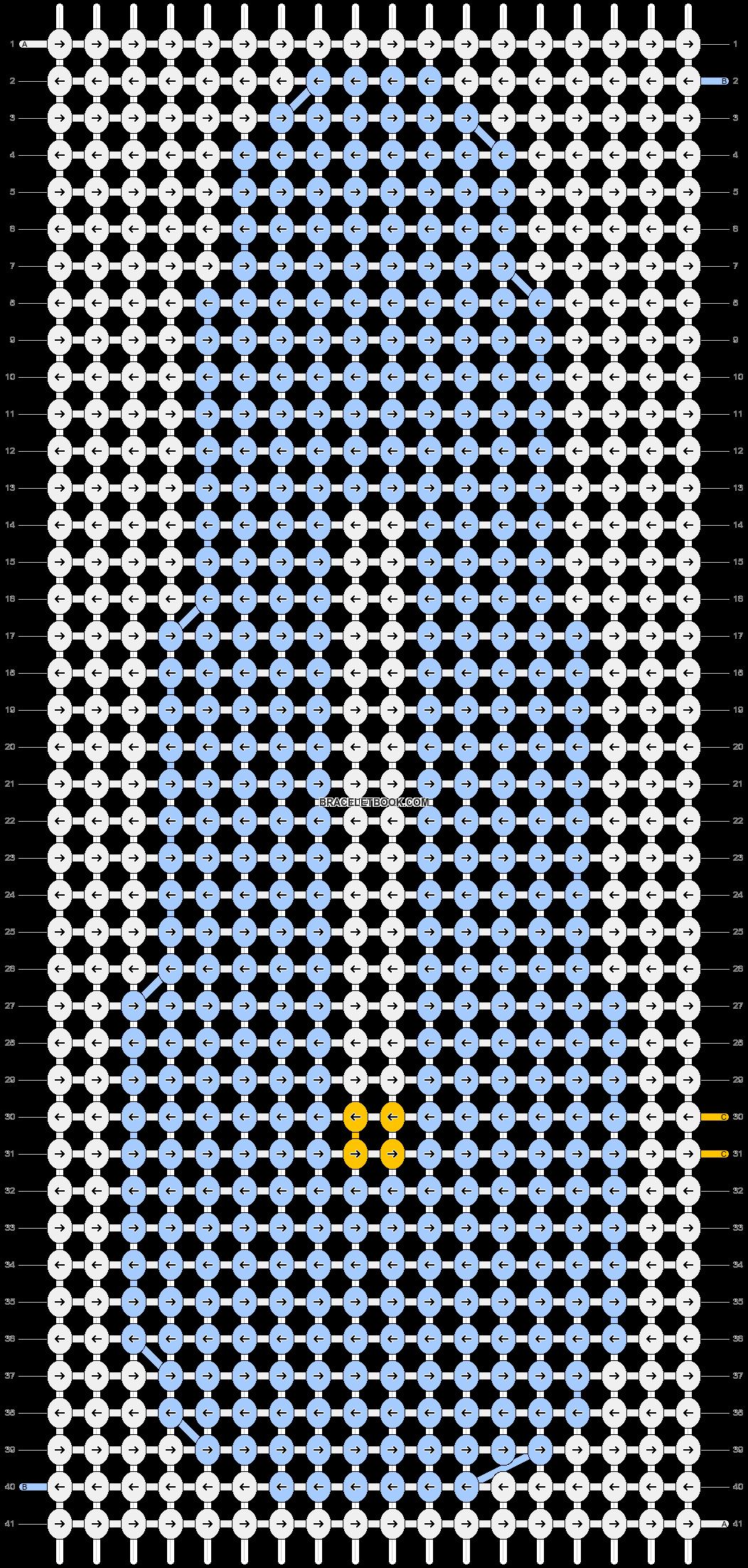 Alpha pattern #92538 pattern