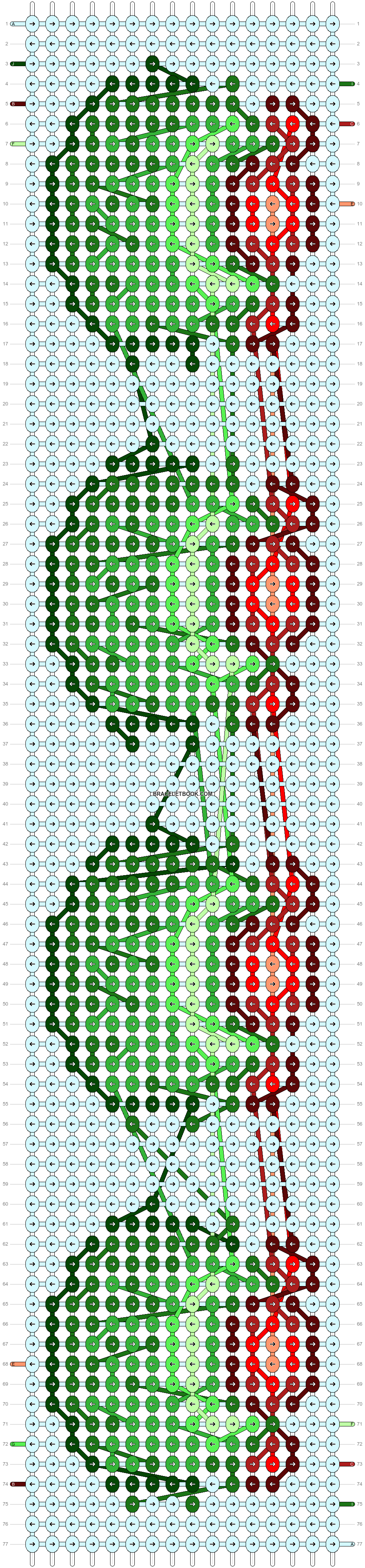 Alpha pattern #92550 pattern