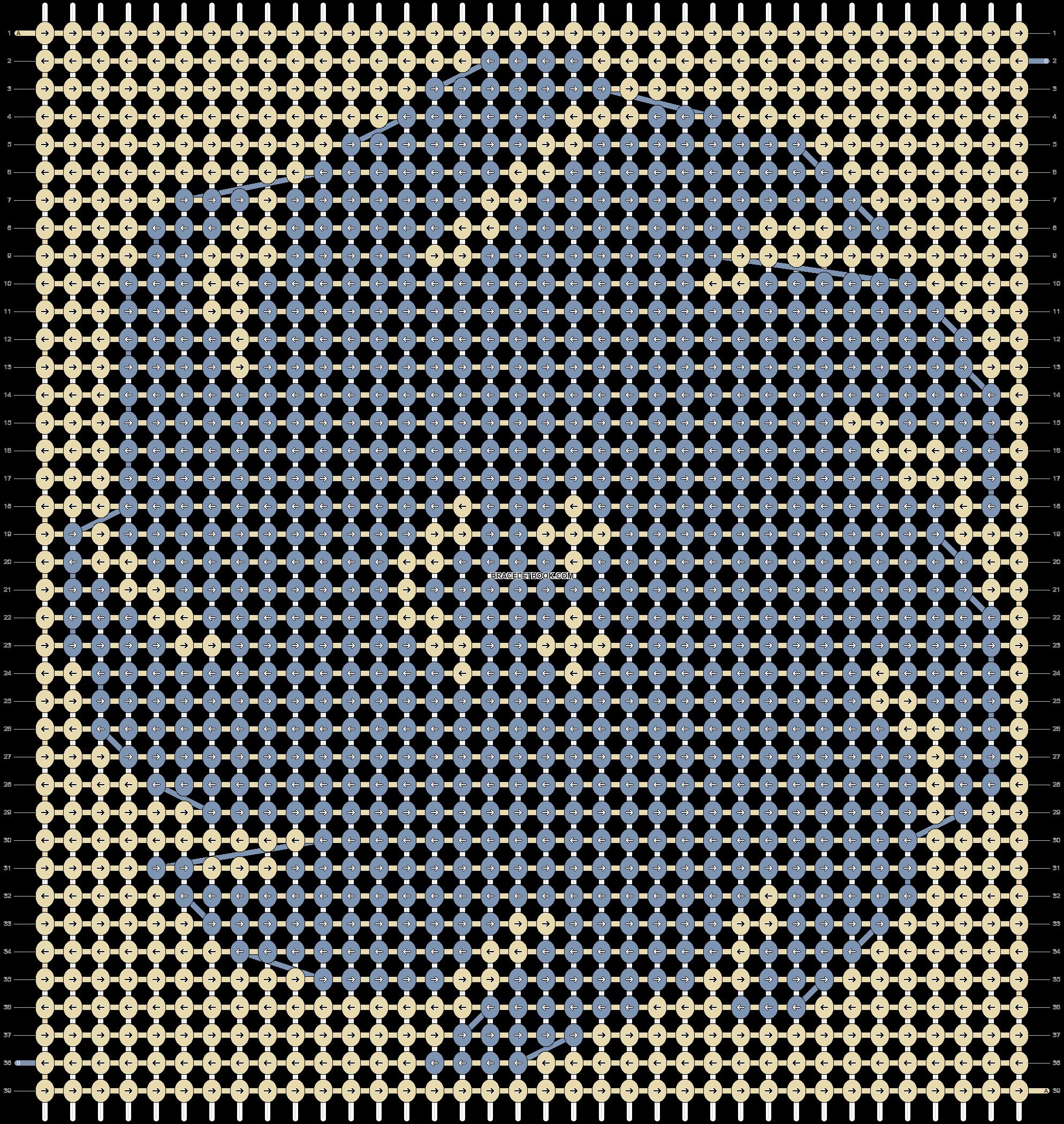 Alpha pattern #92561 pattern