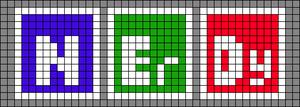 Alpha pattern #92564