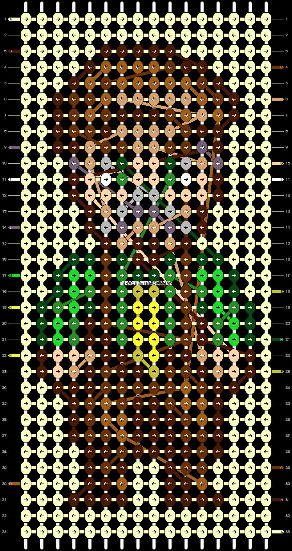 Alpha pattern #92566 pattern