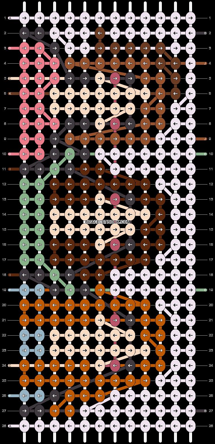 Alpha pattern #92593 pattern
