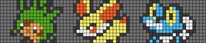 Alpha pattern #92629