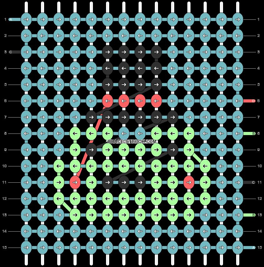 Alpha pattern #92646 pattern