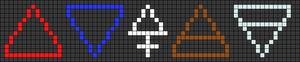 Alpha pattern #92707