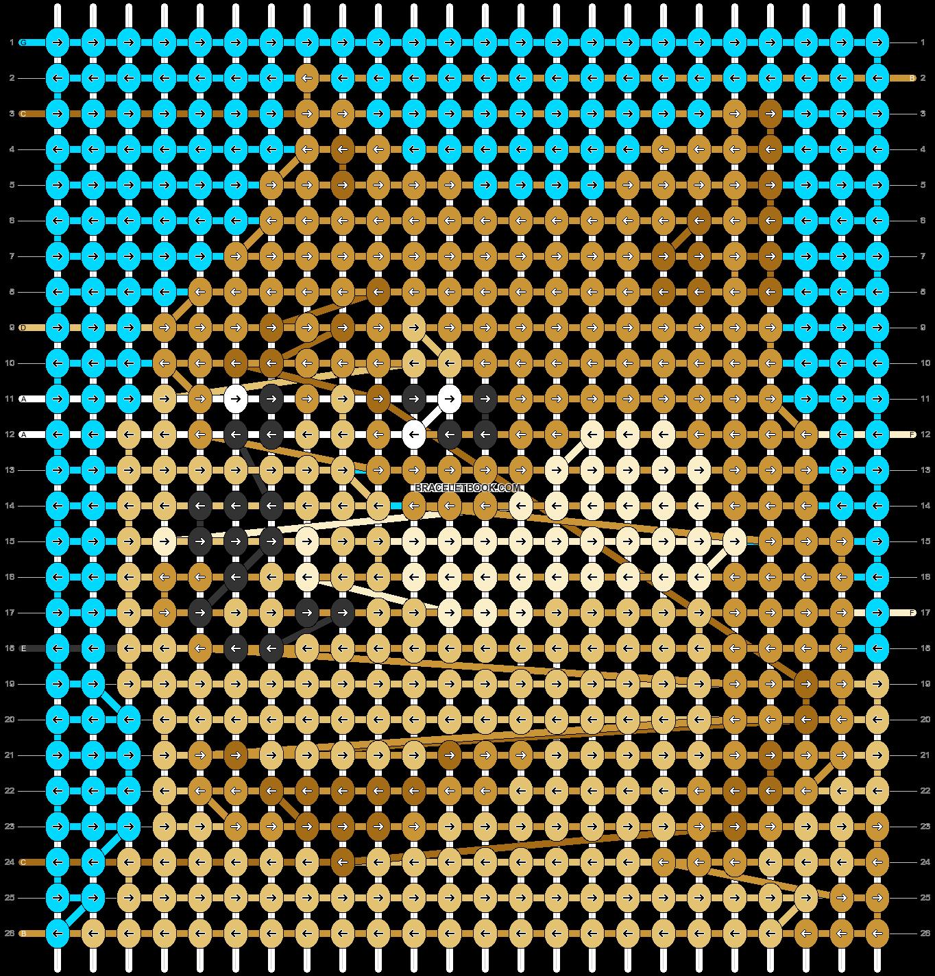 Alpha pattern #92720 pattern