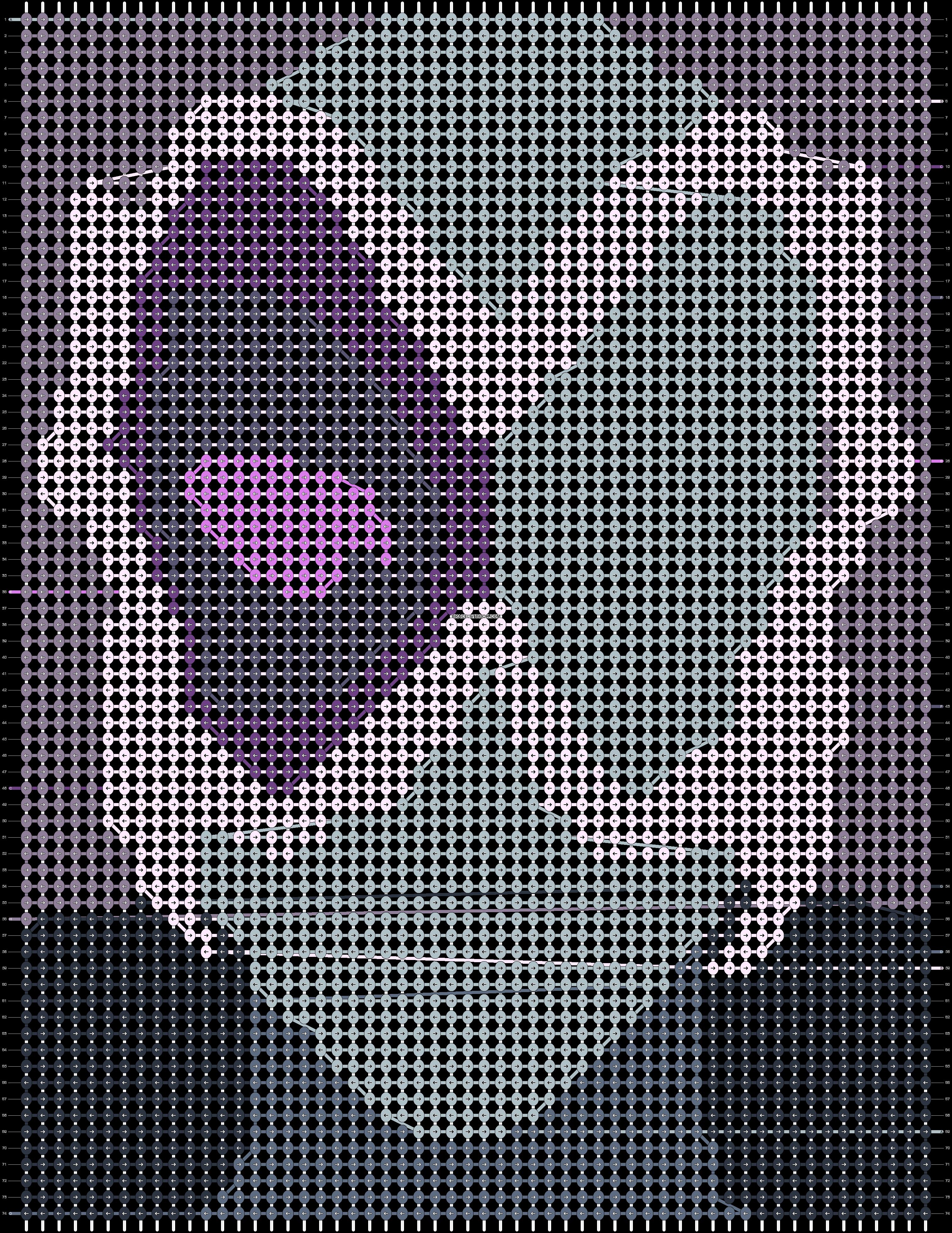 Alpha pattern #92743 pattern