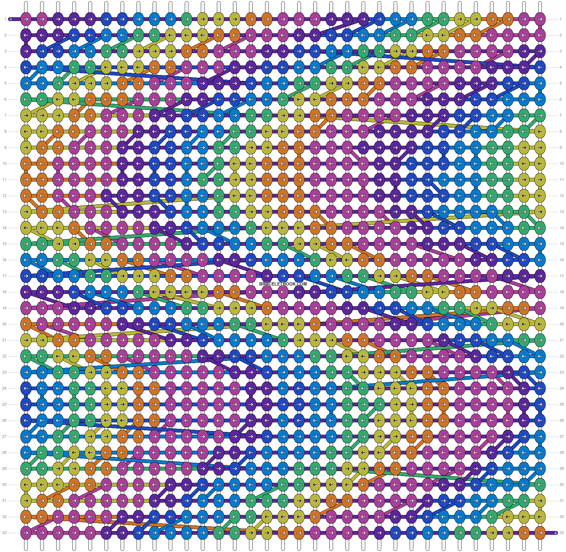 Alpha pattern #92888 pattern