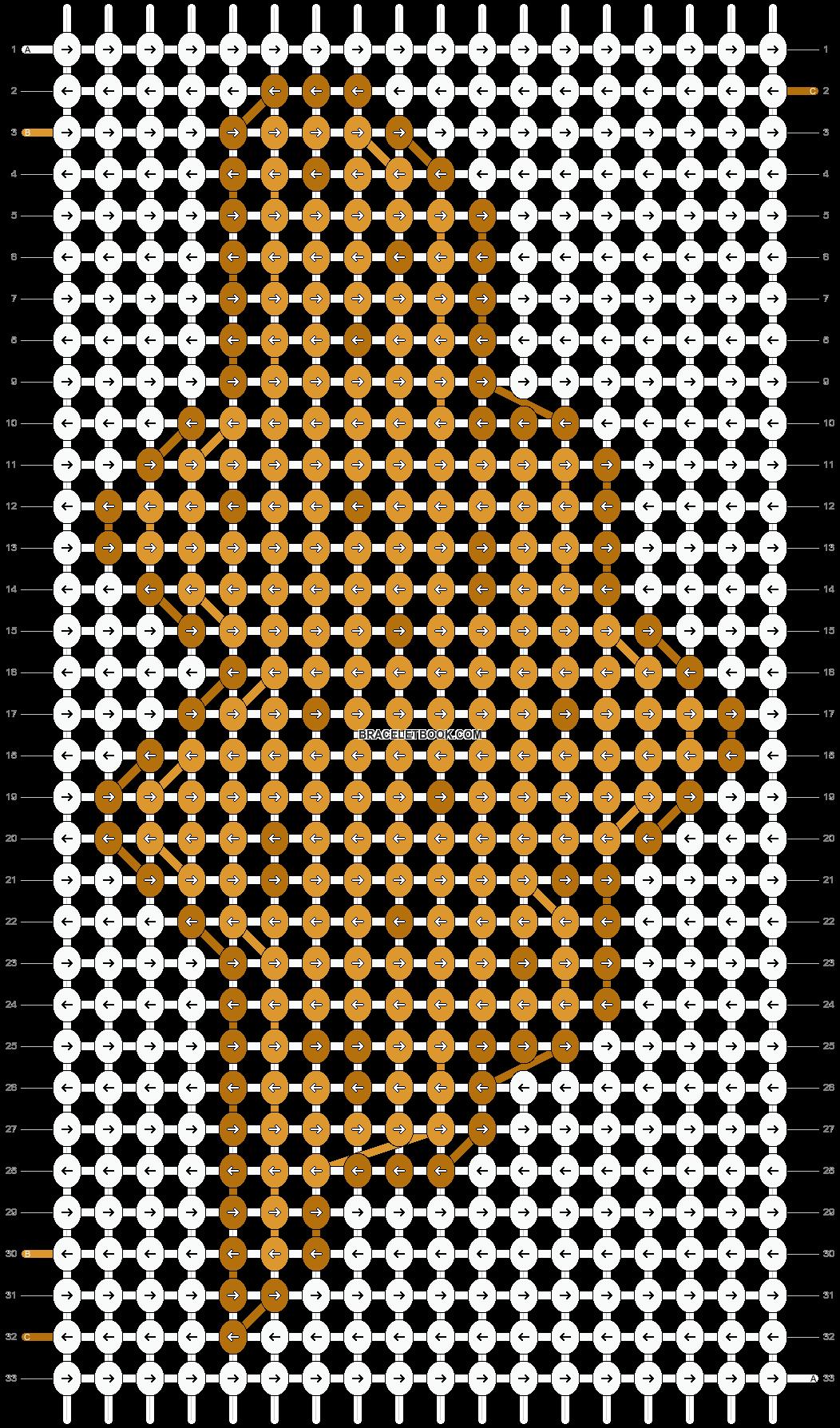 Alpha pattern #93014 pattern