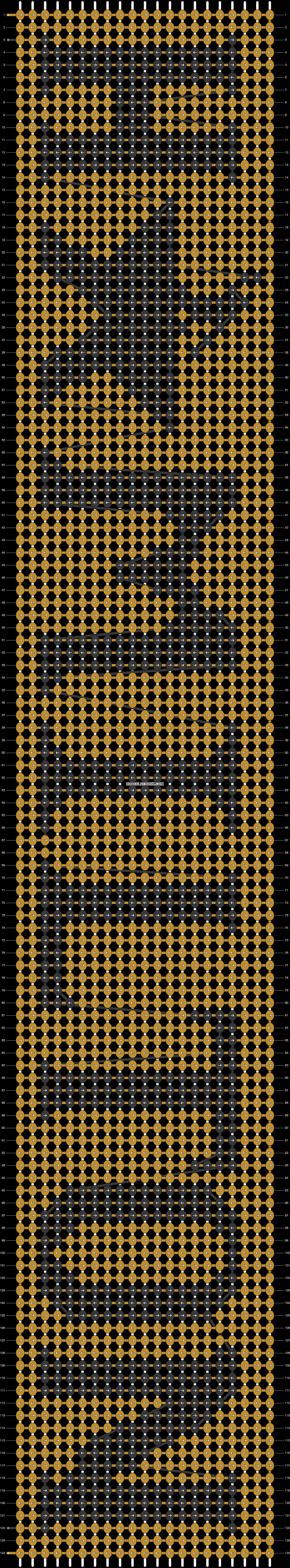 Alpha pattern #93021 pattern