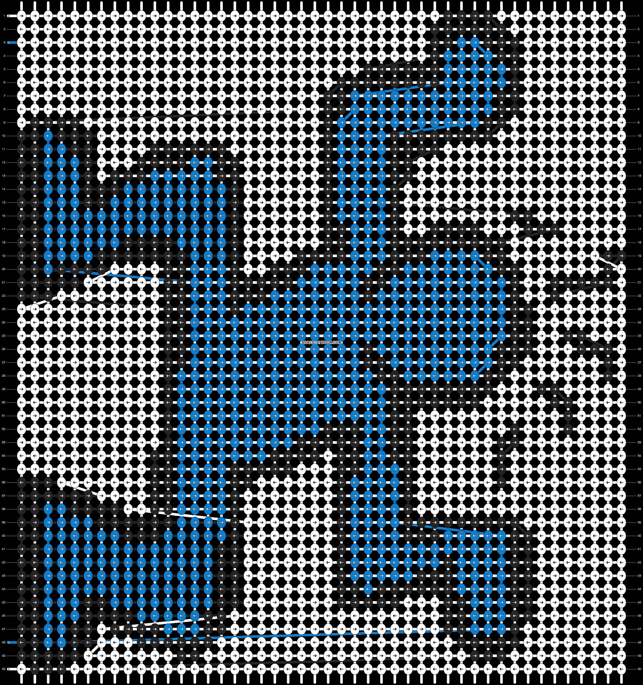 Alpha pattern #93023 pattern