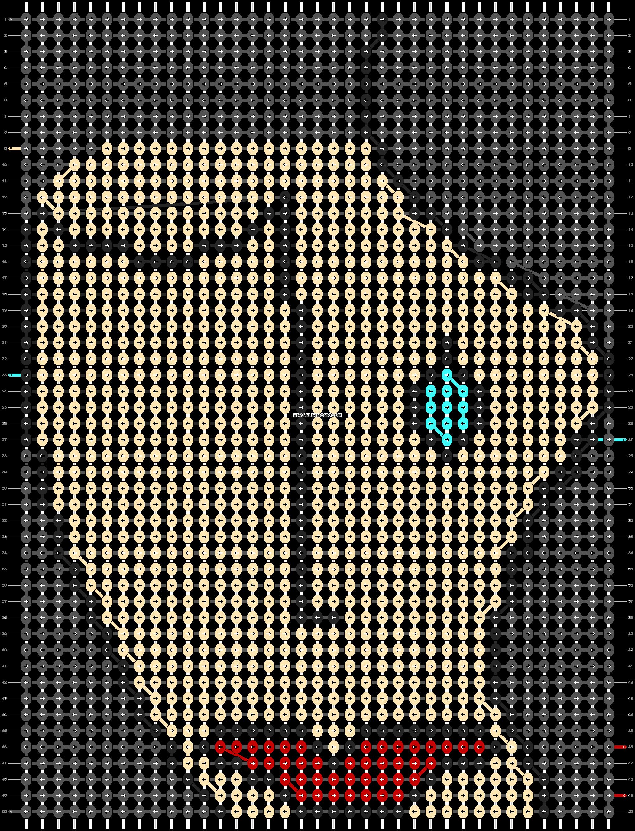 Alpha pattern #93024 pattern
