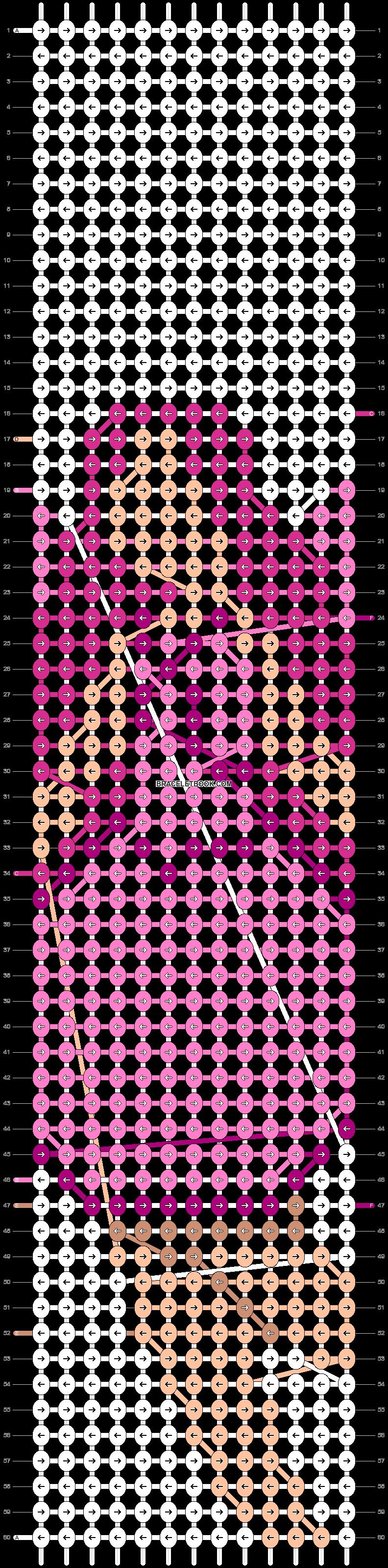 Alpha pattern #93052 pattern