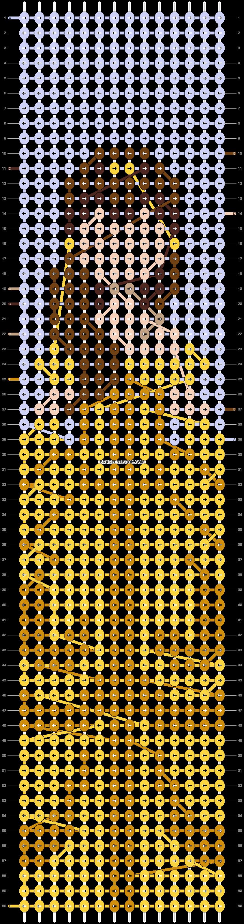 Alpha pattern #93053 pattern