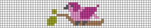 Alpha pattern #93055