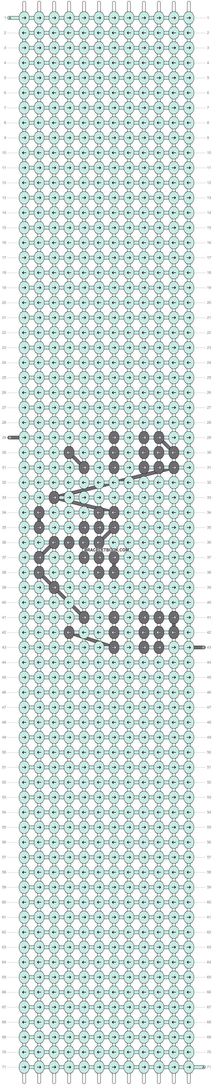 Alpha pattern #93056 pattern