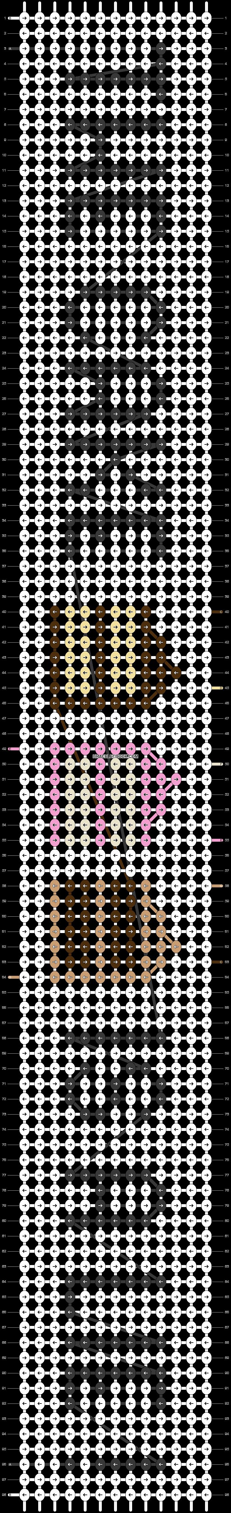 Alpha pattern #93085 pattern
