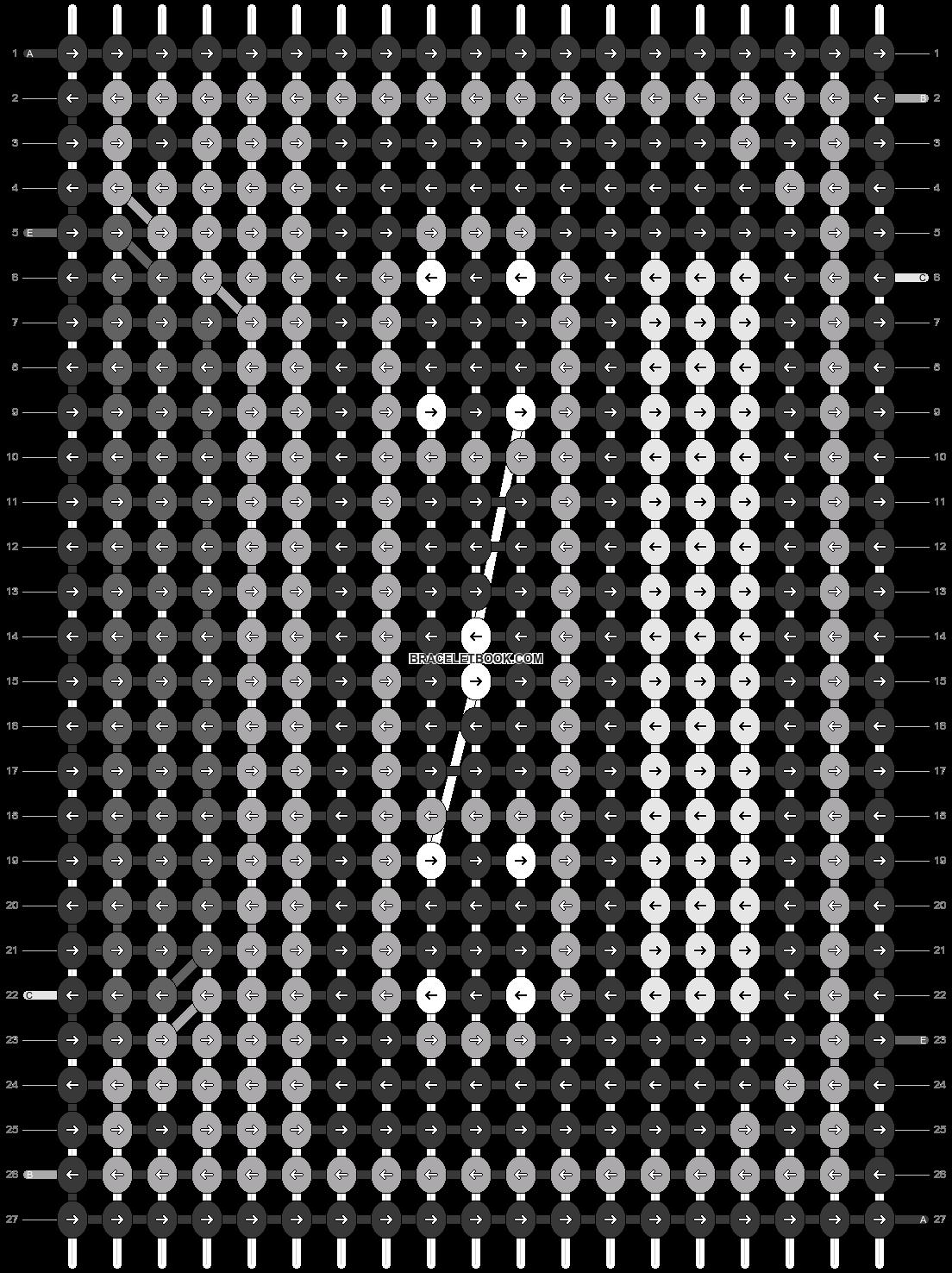 Alpha pattern #93090 pattern