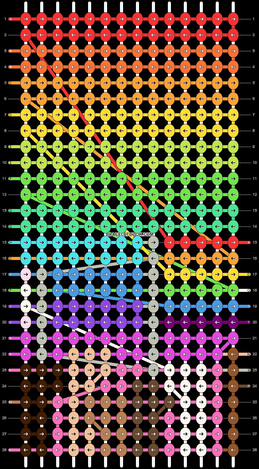 Alpha pattern #93094 pattern