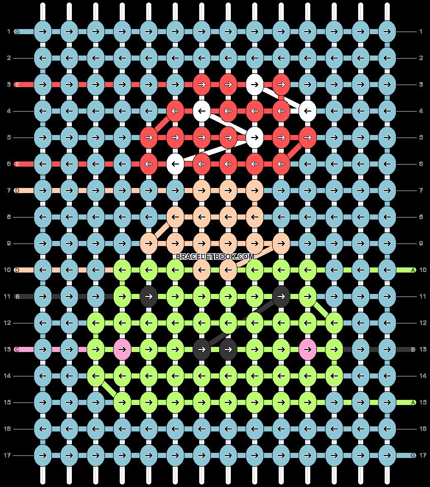 Alpha pattern #93096 pattern