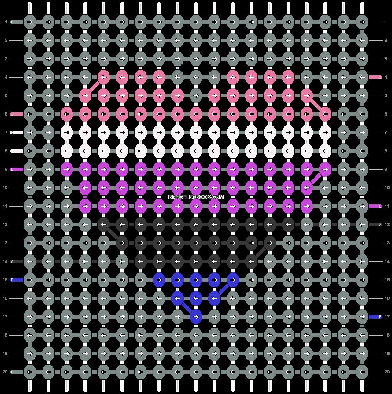 Alpha pattern #93108 pattern