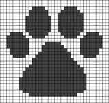 Alpha pattern #93131