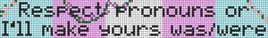 Alpha pattern #93156