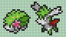 Alpha pattern #93158