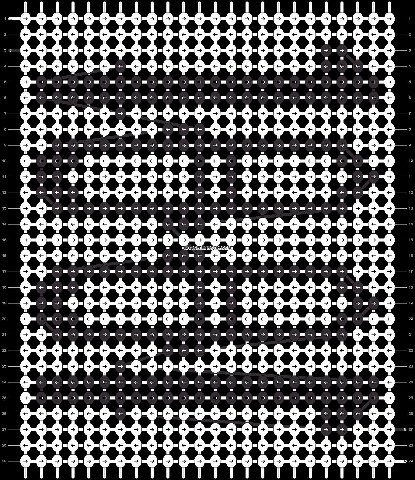 Alpha pattern #93209 pattern