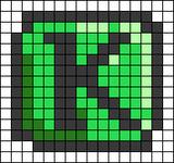 Alpha pattern #93220