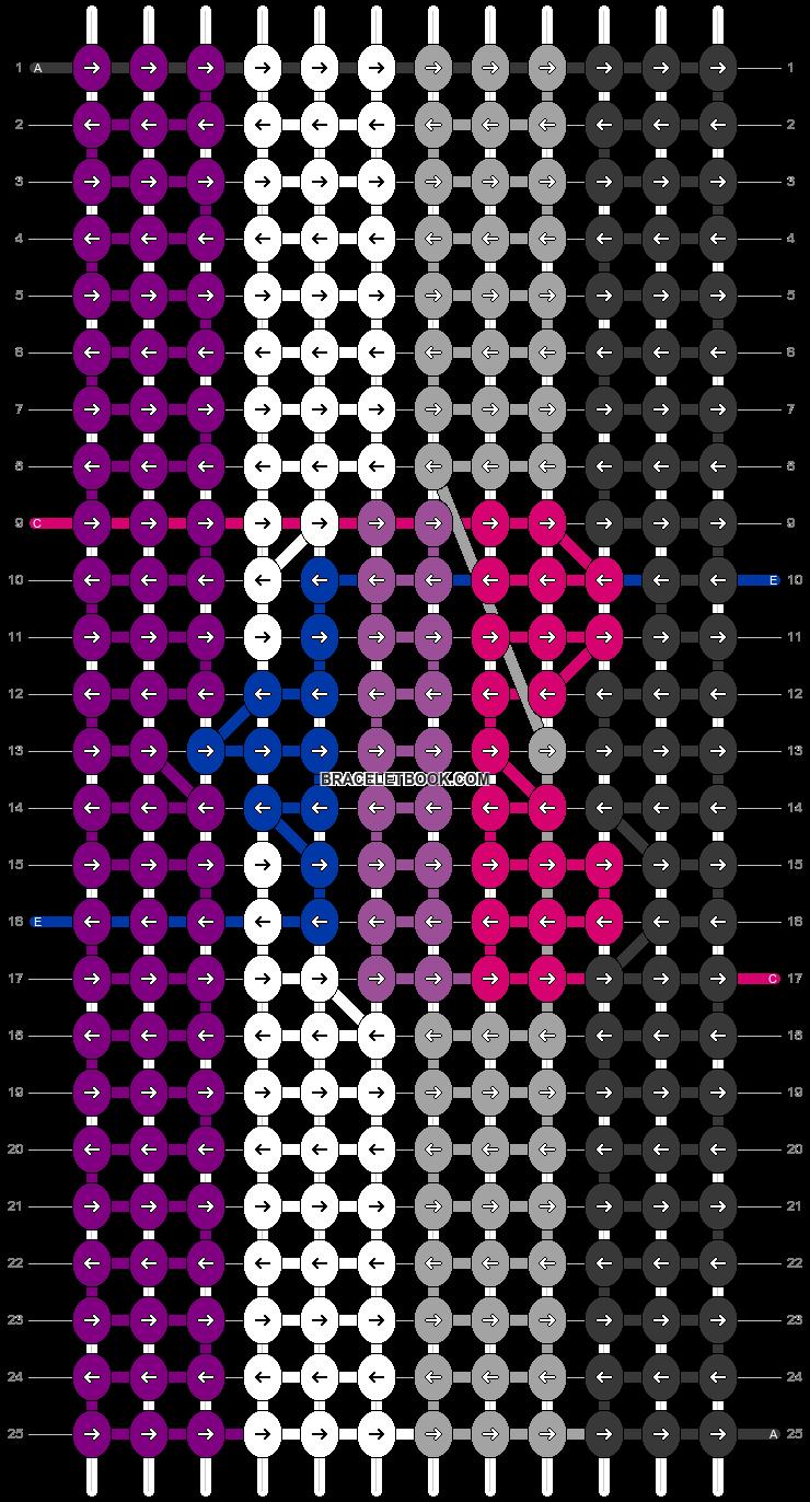 Alpha pattern #93231 pattern