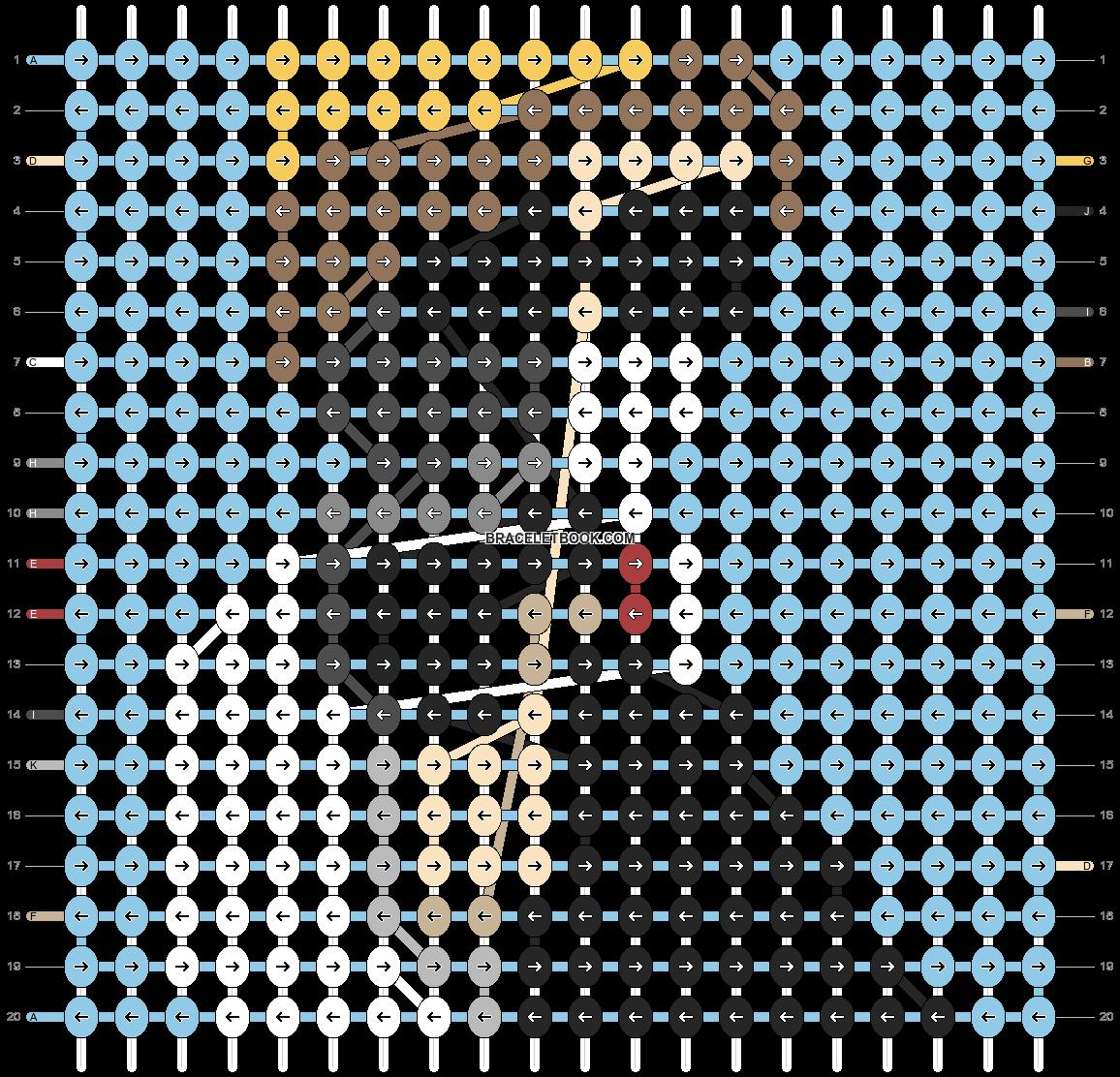 Alpha pattern #93286 pattern