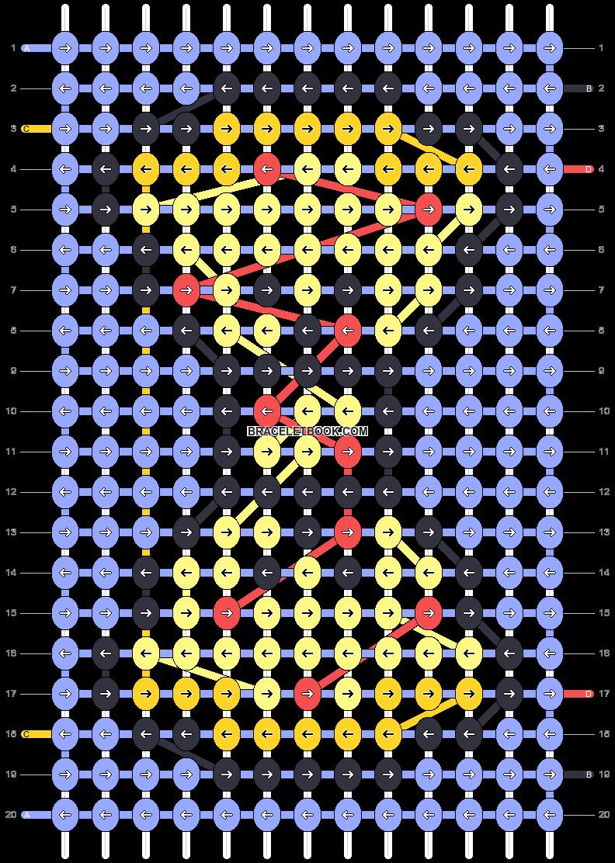 Alpha pattern #93291 pattern