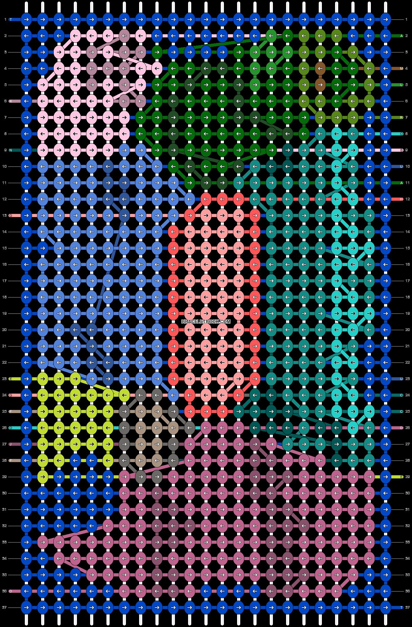 Alpha pattern #93313 pattern