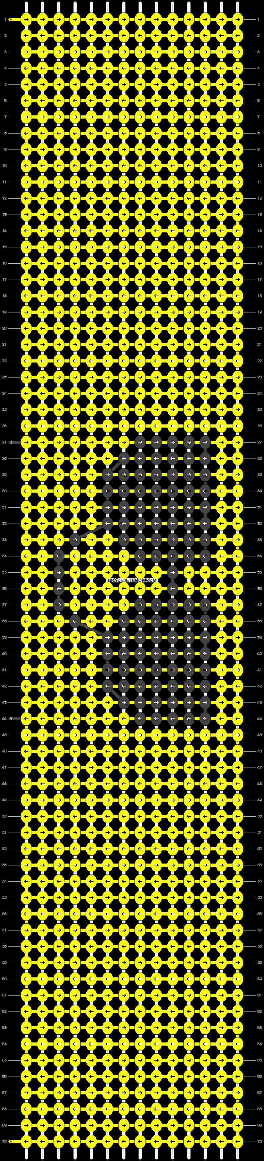 Alpha pattern #93319 pattern