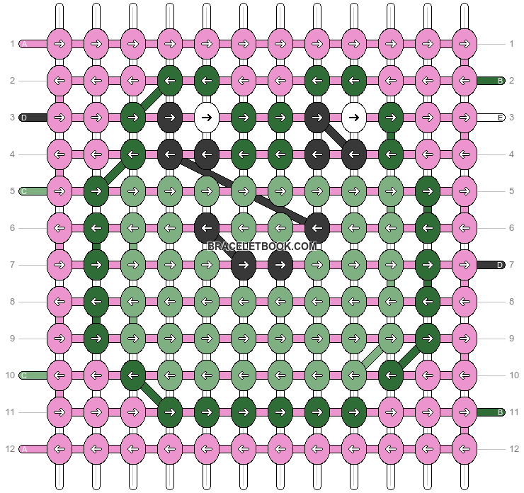 Alpha pattern #93355 pattern