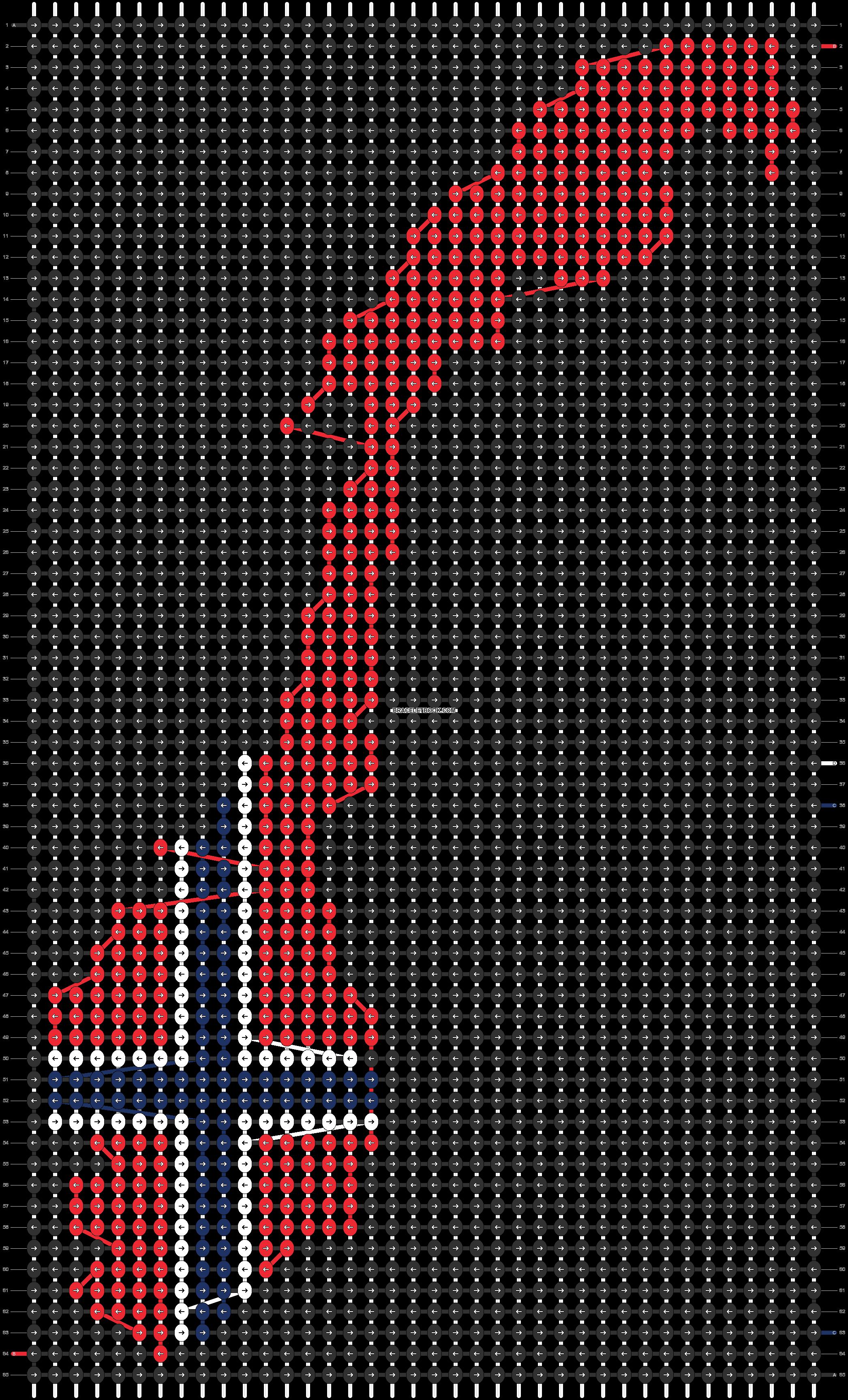Alpha pattern #93357 pattern