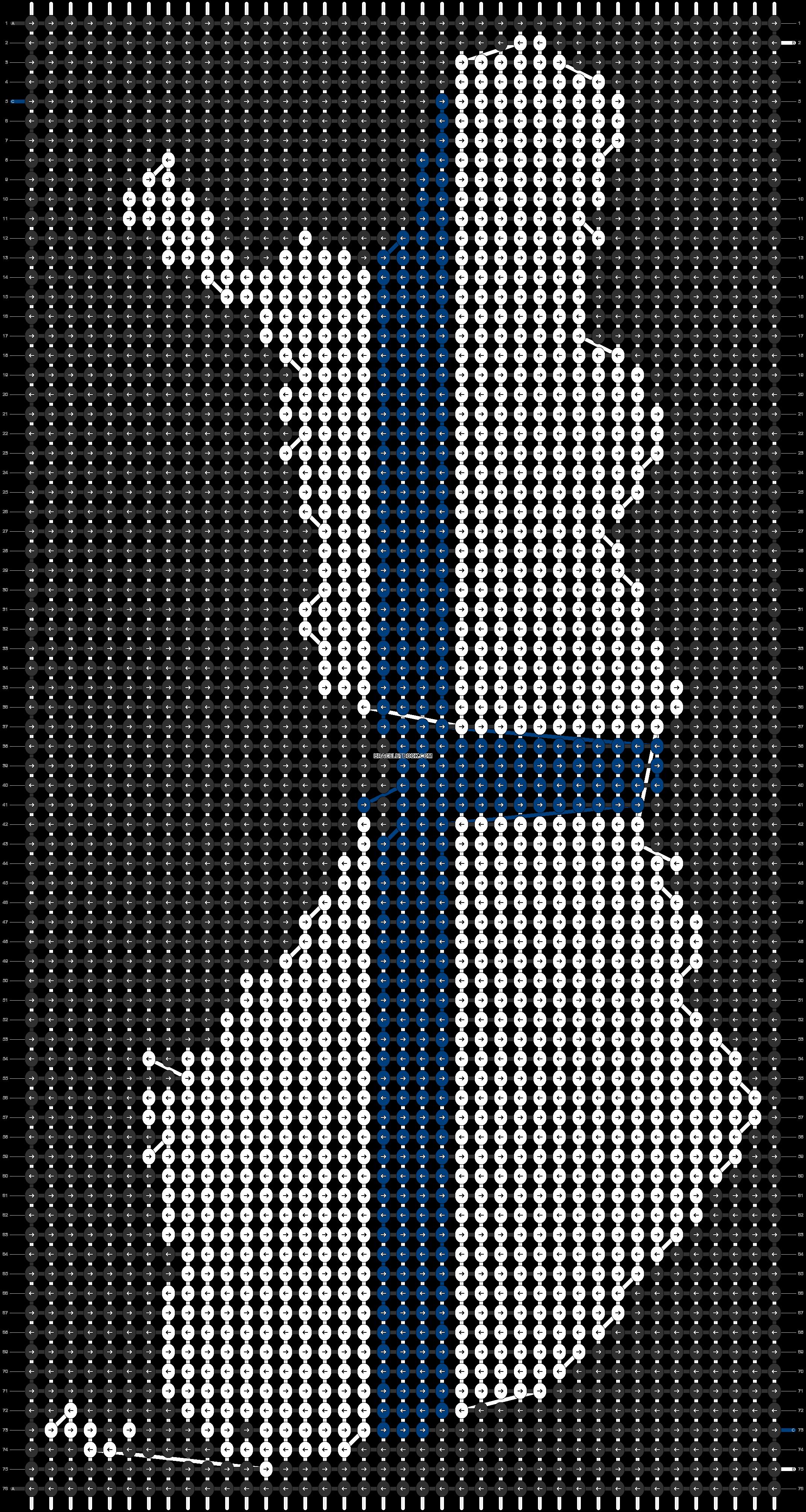 Alpha pattern #93358 pattern