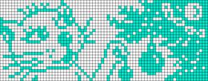 Alpha pattern #93363