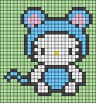 Alpha pattern #93375