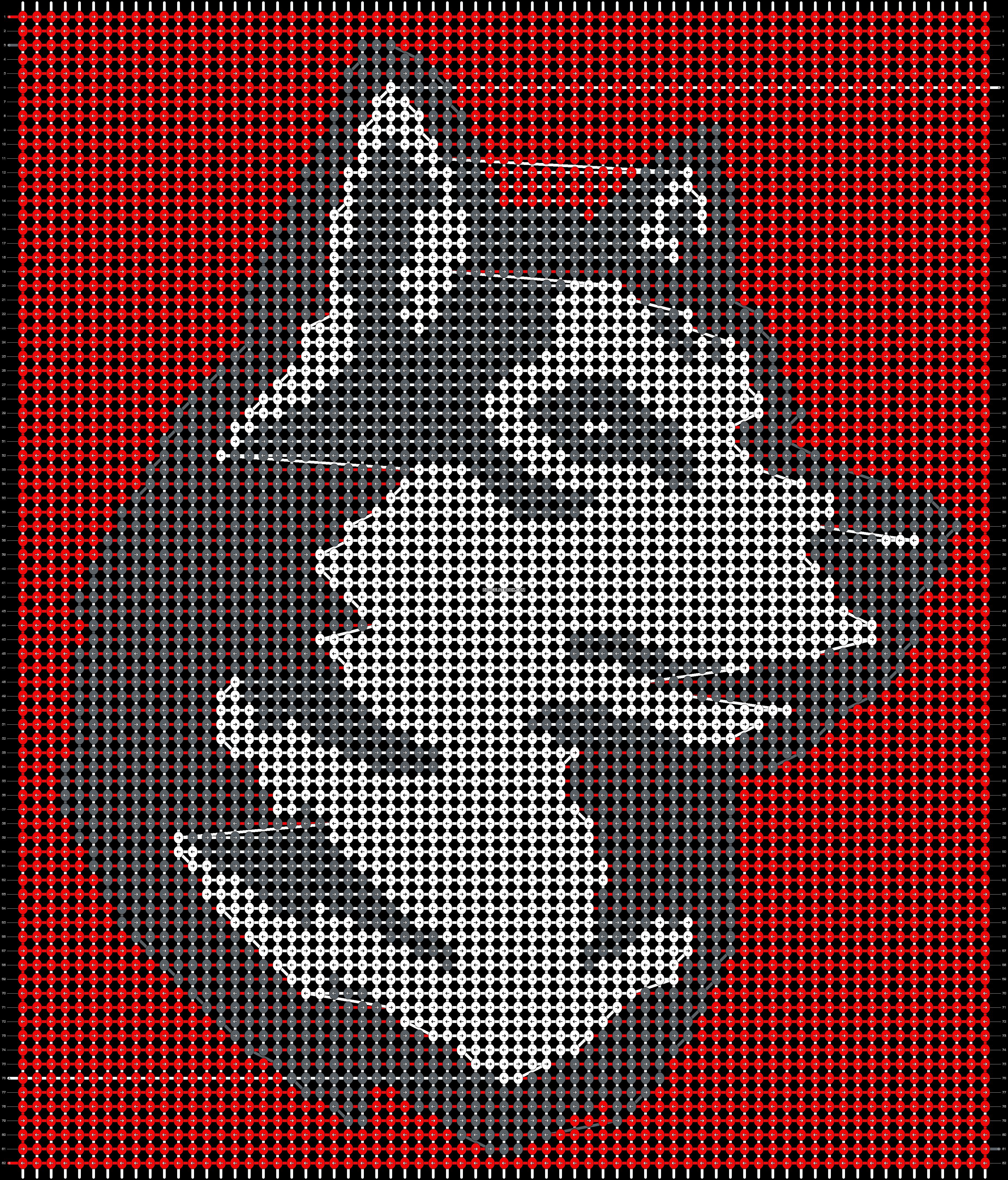 Alpha pattern #93383 pattern