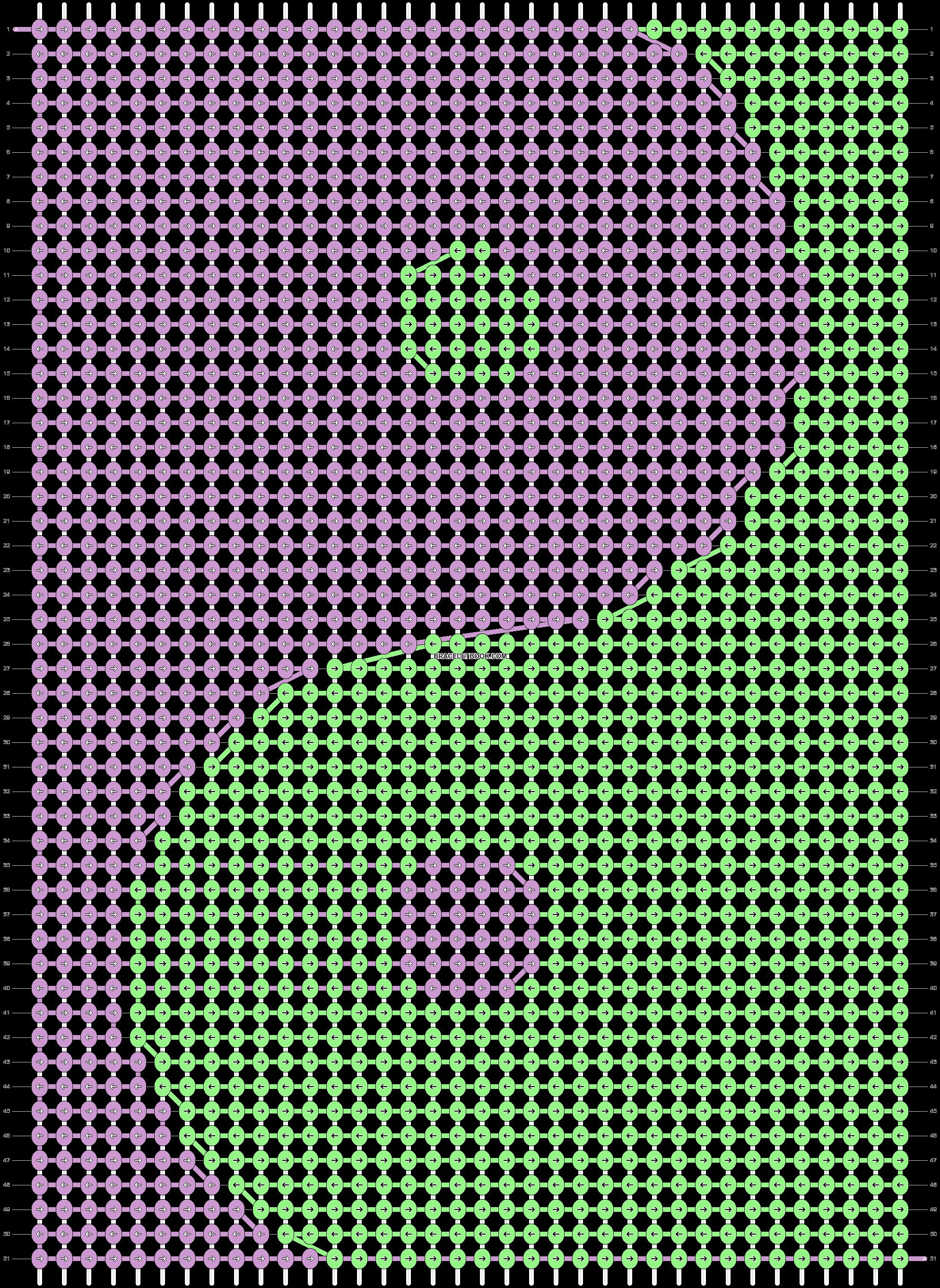 Alpha pattern #93385 pattern