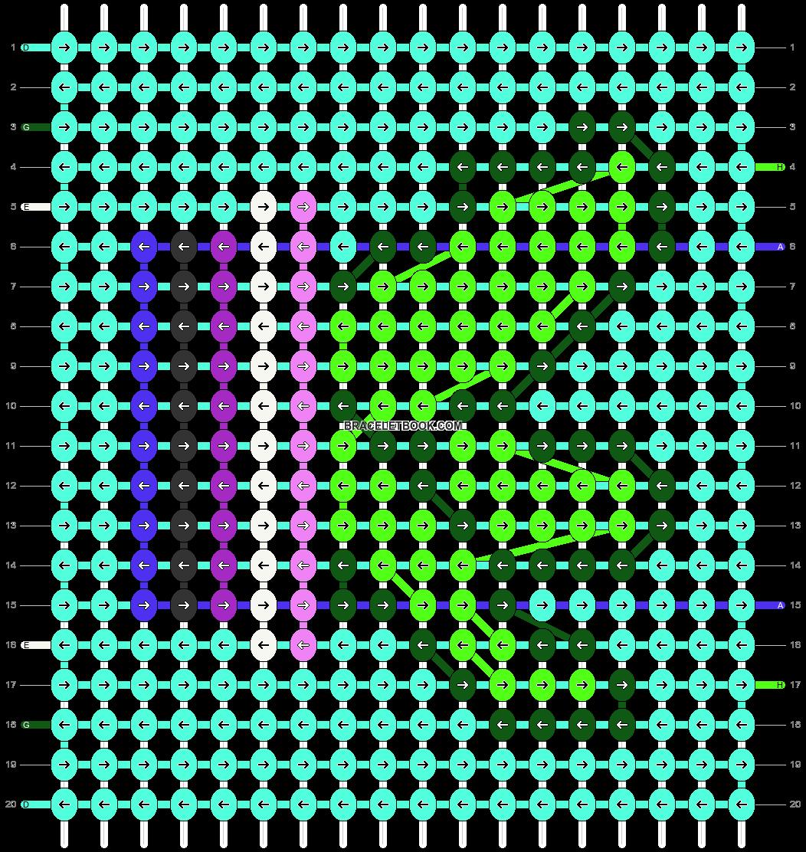 Alpha pattern #93441 pattern