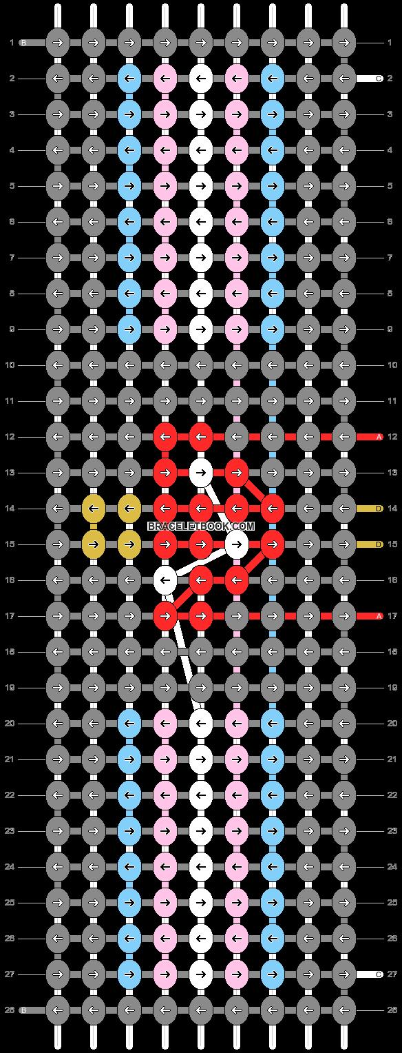Alpha pattern #93485 pattern