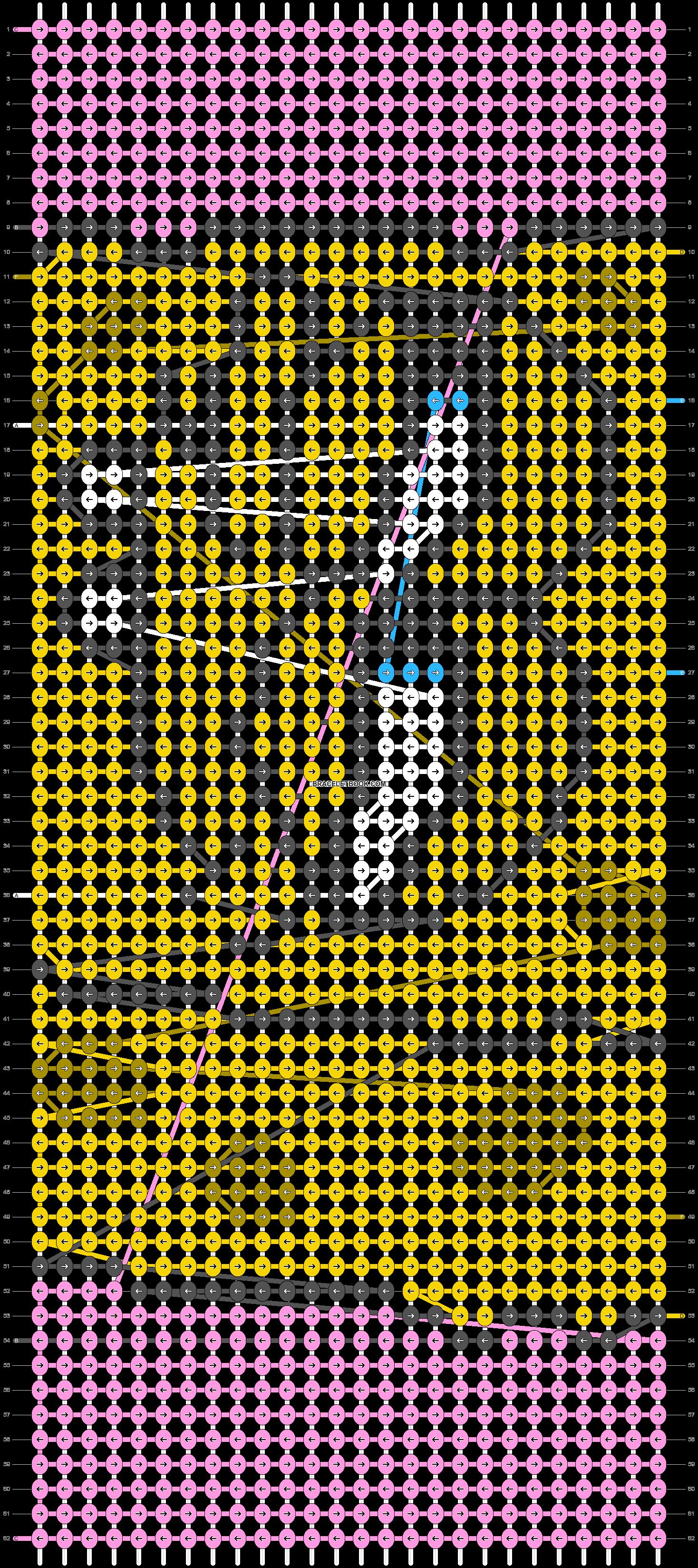 Alpha pattern #93487 pattern