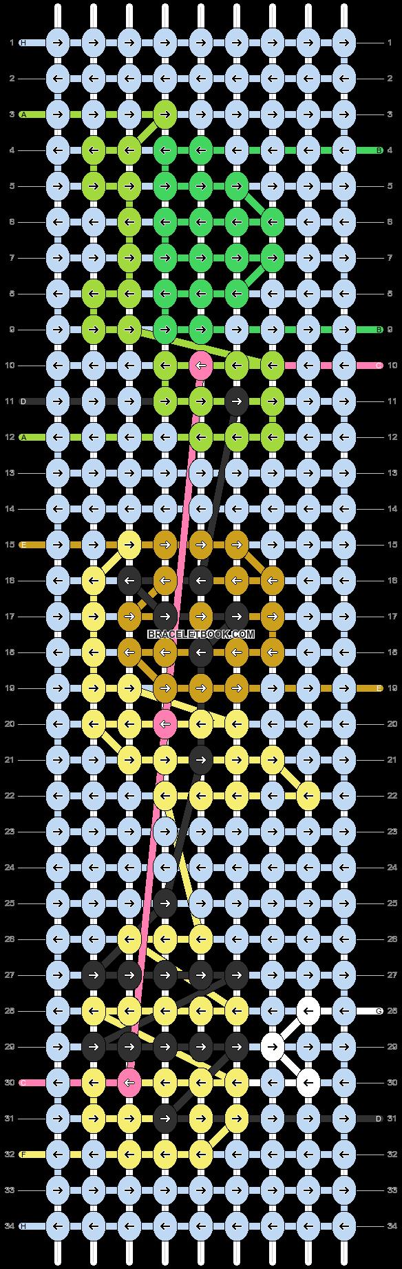 Alpha pattern #93512 pattern
