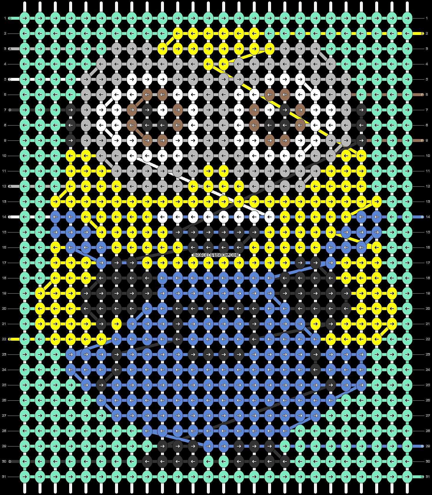 Alpha pattern #93529 pattern