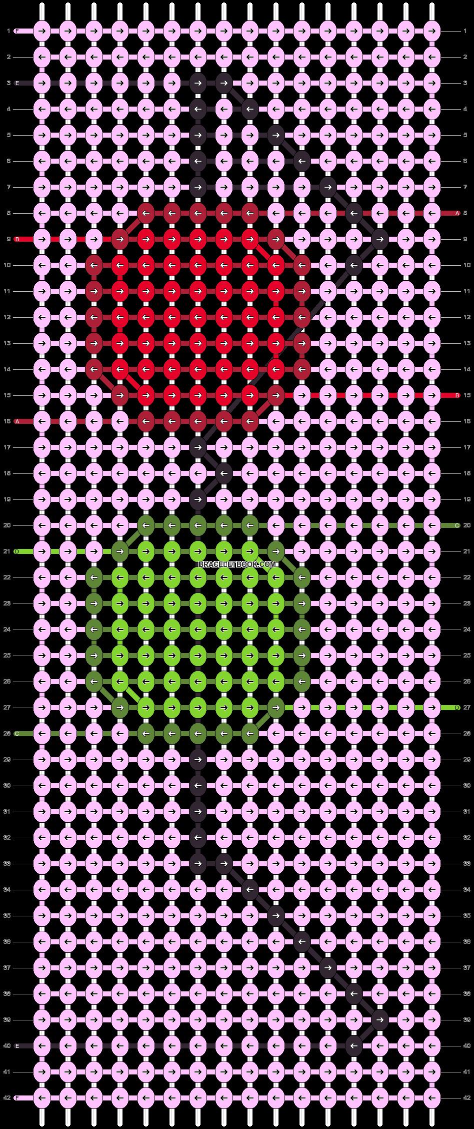 Alpha pattern #93539 pattern