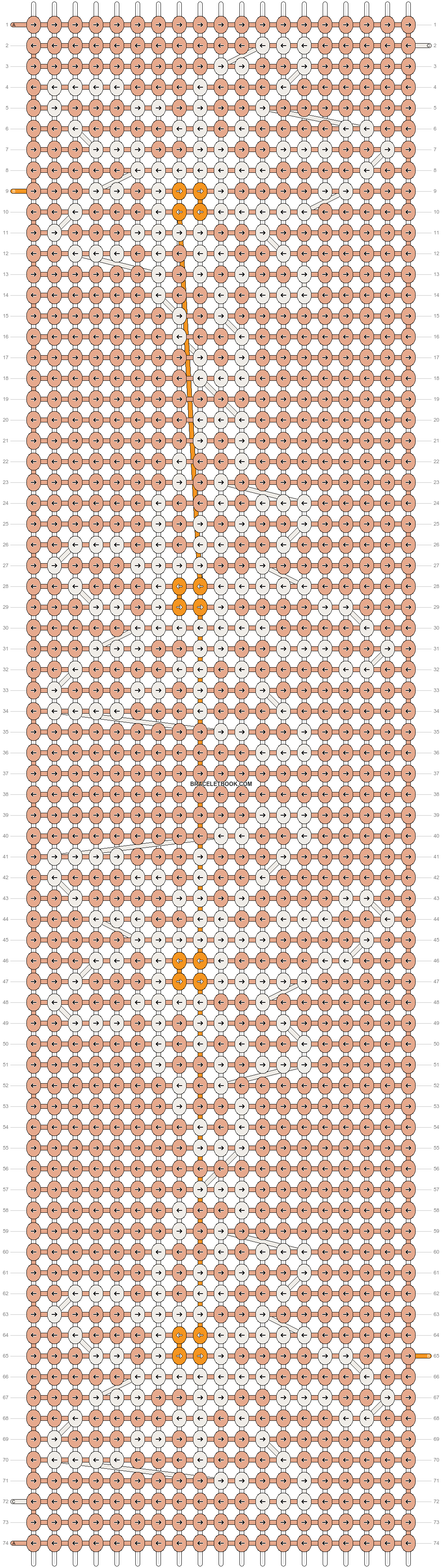 Alpha pattern #93587 pattern